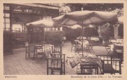 24s - 77 - Provins - Seine-et-Marne - Hostellerie De La Croix D'Or - La Terrasse - N° 76 - Provins