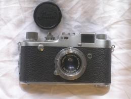 SONNE C4 - GATTO - LEICA COPY - ITALY PORDENONE ANNI '50 - CON CUSTODIA ORIGINALE - FUNZIONANTE - VINTAGE - Macchine Fotografiche