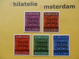 Suriname 1975, CENTRAL BANK PARAMARIBO: Mi 705-09, ** - Suriname
