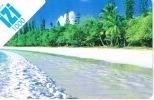 Nouvelle Caledonie Telecarte Phonecard Publique Prepayee Prepaid IZI 1000 F Plage Lagon  31/12/2012 Ut. E Moyen - Nouvelle-Calédonie