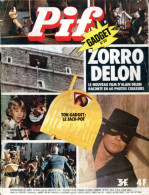 "Pif  Gadget N°317  - Rahan - Film ""Zorro"" Avec Alain Delon - Amicalement Votre - Pif Gadget"