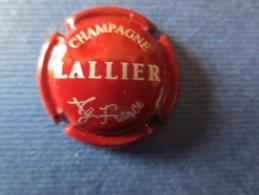 LALLIER. Bordeaux Et Argent