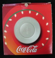 AC - COCA COLA GLASS PLATE 21 CM FROM TURKEY - Household Necessity
