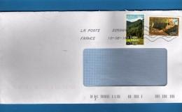 Francia ° - 2008 - Enveloppe Avec Le Timbre Le Trapéziste Et Le Cirque De Mafate. Vedi Descrizione - Francia