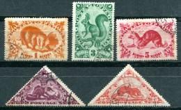TOUVA - TUVA - Y&T 54 à 58 (Scott 61 à 65) (animaux) - Toeva