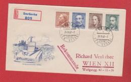 Tchécoslovaquie  --  Enveloppe Départ Smrzovka --  26/2/1962 - Cartas