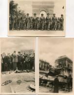 MILITAIRE(LIBERATION DE PARIS) GUERRE 1939-45(LOT DE 3 CARTES) - Guerre 1939-45