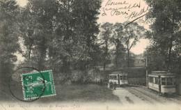 LILLE.Percée Des Remparts Tramway - Lille