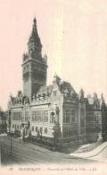 DUNKERQUE.Ensemble De L'hotel De Ville - Dunkerque