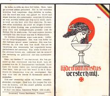 Oorlogsslachtoffer, Gesneuveld,1944, Lichtervelde, Wolfenbuttel,Burgemeester Callewaert, Debaeke, Vermandele - Religion & Esotérisme