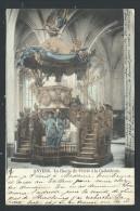 CPA - ANTWERPEN - ANVERS - La Chaire De Vérité à La Cathédrale - Couleur 1902   // - Antwerpen