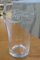 AC - COCA COLA CLEAR TUMBLER GLASS - B FROM TURKEY - Mugs & Glasses