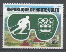 Upper Volta 1975. Scott #386 (MNH) Olympic Games, Innsbruck, Skiing - Haute-Volta (1958-1984)