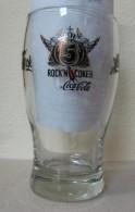 AC - COCA COLA - ROCK'N COKE 2007 GLASS FROM TURKEY - Mugs & Glasses