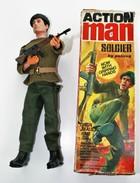 Vintage ACTION MAN : SOLDIER - BOXED!!! - Original Hasbro 1970 - Palitoy - GI JOE - Action Man