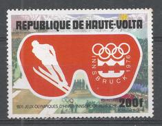 Upper Volta 1975. Scott #C226 (MNH) Olympic Games Innsbruck, Skiing Jump - Haute-Volta (1958-1984)