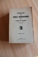 Annales Du Cercle Archéologique De Soignies 1962 - Belgique