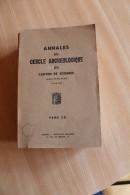 Annales Du Cercle Archéologique De Soignies 1960-1961 - Belgique