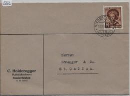 1940 Trachten Thurgauerin J93 Von Niederteufen Appenzell Nach St. Gallen - Pro Juventute