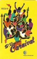 *IS. ST. VINCENT & THE GRENADINES: 304CSVA* - Scheda Usata - St. Vincent & The Grenadines