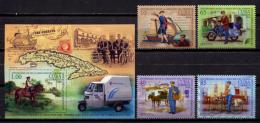 Cuba 2016 / 260 Years Of The Post MNH 260 Años Del Correo / C11518  29 - Cuba