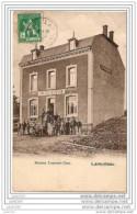 LAMORTEAU ..--  Maison LAURENT - COOS . 1913 Vers NEUFLIZE ( Mr Gabriel MODESTE ) . Voir Verso . - Rouvroy