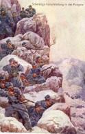 A Identifier-Schwierige Kampfstellung In Der Pogdora (Croatie)-Offizielle Postcarte Für Das Rote Kreuz Kriegsfürsorgeamt - Weltkrieg 1914-18