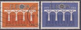 Finlandia 1984 Nº908/09 Usado - Gebraucht