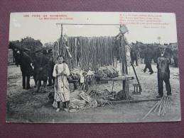 CPA 50 LESSAY Marchand De Licous à La Foire Sainte Croix  1915 ANCIENS METIERS CORDIER Poème D' ERMICE Canton CREANCES - France