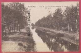 33 - MOUTCHIC--Etang De Lacanau--Canal De Pitol A Talaris - France