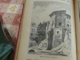 Albaicin Spain Engraving Print 1895 - Estampas & Grabados