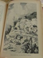 Sacro Monte Granada Spain Engraving Print 1895 - Estampas & Grabados