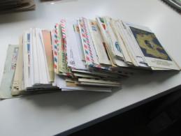 Belegeposten über 280 Stk. Ab Ca. 1882. Briefe / FDC / GA / PK / Streifbänder Usw. Deutschland / Europa / Alle Welt - Briefmarken