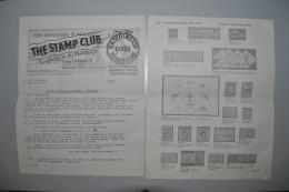 """Grande-Bretagne 1967 Document """"Stamp Club"""" Scarborough - Lettres & Documents"""