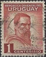 URUGUAY 1941 40th Death Anniv Of Blanes - 1c Juan Manuel Blanes (artist) FU - Uruguay