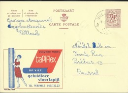 Publibel Obl. N° 1900 ( TAPIFLEX  -  Péruwelz) Obl: Volleneke - Publibels