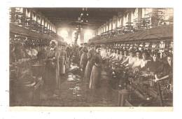 CPA - 30 SAINT AMBROIX Intérieur De La Filature Neuve : Femmes Devant Des Machines - Saint-Ambroix