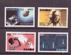 ZAMBIE 1986 COMETE DE HALLEY  YVERT N°349/52  NEUF MNH** - Space