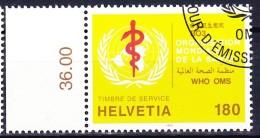 SUISSE SERVICE 1995 YT N° S 471 Obl. - Oficial