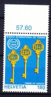 SUISSE SERVICE 1994 YT N° S 468 ** - Dienstpost