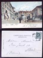 BRESCIA 1907 - PIAZZA MAZZINI - BELLA ANIMAZIONE! - Brescia