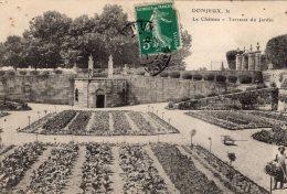 V4237 Cpa 52 Donjeux - Le Château, Terrasse Du Jardin - France