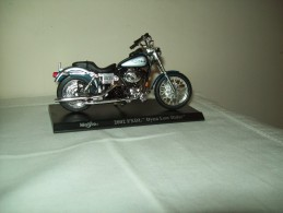 "Harley Davidson(2002 FXDL Dyna Low Rder) ""Maisto""  Scala 1/18 - Moto"