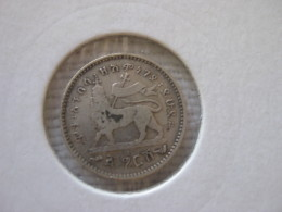 Ethiopie: Gersh 1889 EE = 1897 - Ethiopie