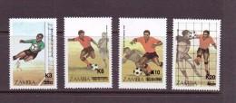 ZAMBIE 1987 FOOTBALL  YVERT N°403/06  NEUF MNH** - World Cup