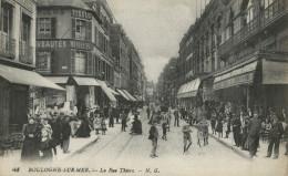 BOULOGNE SUR MER.La Rue Thiers - Boulogne Sur Mer