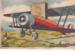 Carte Système - Avion Et Photo D'Enfant - Sin Clasificación