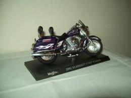 "Harley Davidson (2002 FLHRSEI CVO Custon) ""Maisto""  Scala 1/18 - Moto"