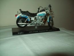 "Harley Davidson (1992 FXDB Daytona 50th Anniversary) ""Maisto""  Scala 1/18 - Moto"