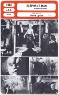 Fiche De Mr Cinéma ELEPHANT MAN - Réalisateur David Lynch - USA 1980 - Non Classificati